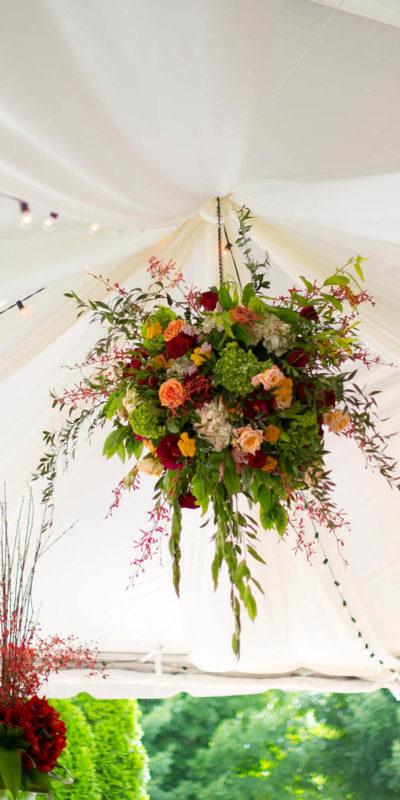 Beautiful Floral Chandelier in Asheville
